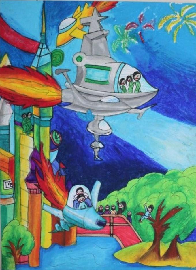 太空旅行画太空旅行的图片