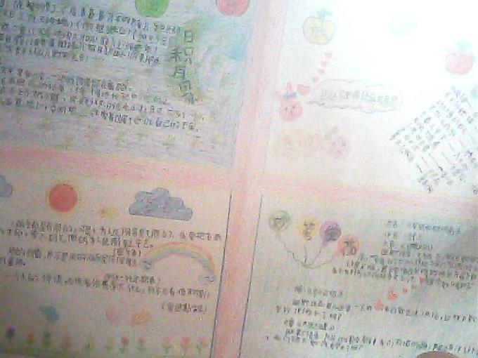 """""""快乐阅读 放飞梦想""""手抄报"""