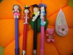 可爱的娃娃笔