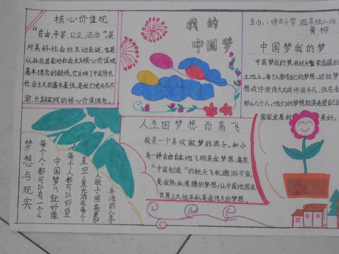 红领巾相约中国梦.社会主义核心价值观记心中