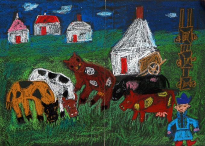 儿童画 680_484