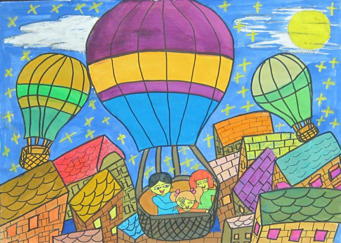 热气球-张潇芮图片