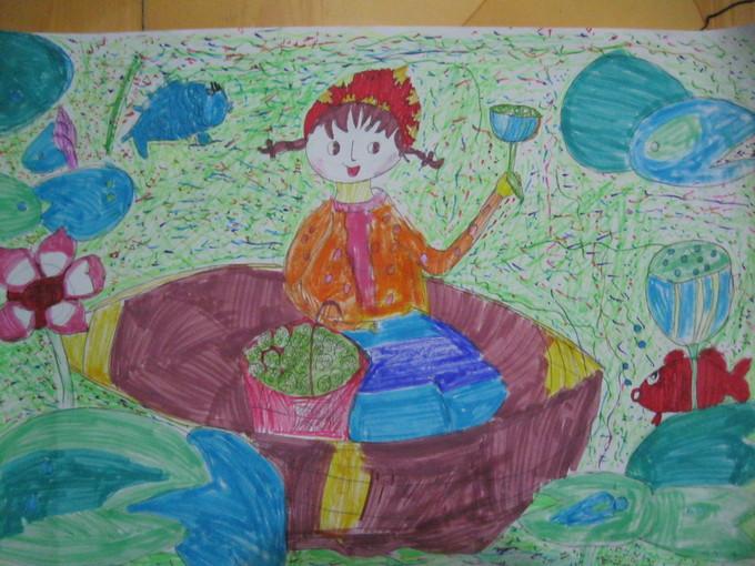 中心小学开展 红领巾相约中国梦 绘画比赛图片