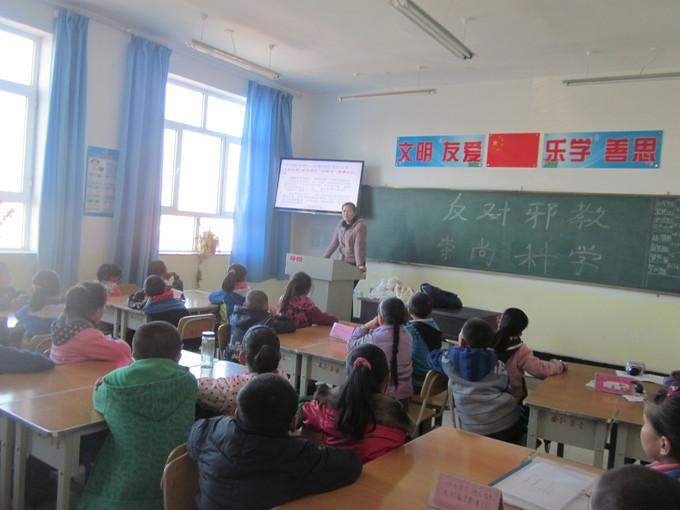 县各中小学开展宗教宣讲进校园活动