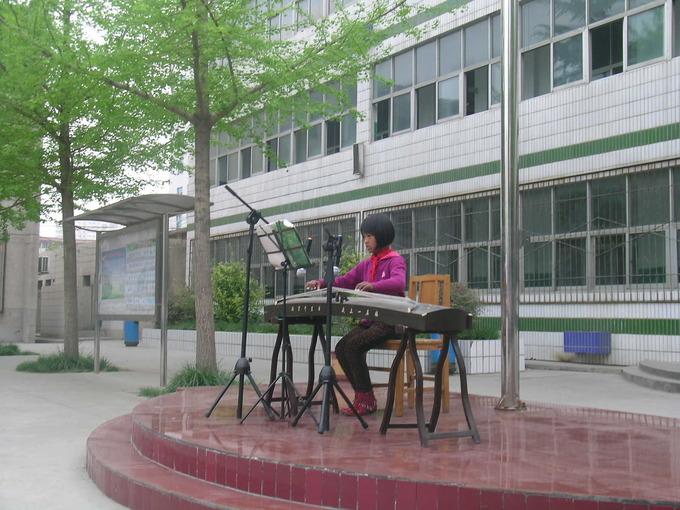郑州市二七区齐礼闫校园第7期桃子之星-作文弹古筝小学生小学关于的图片