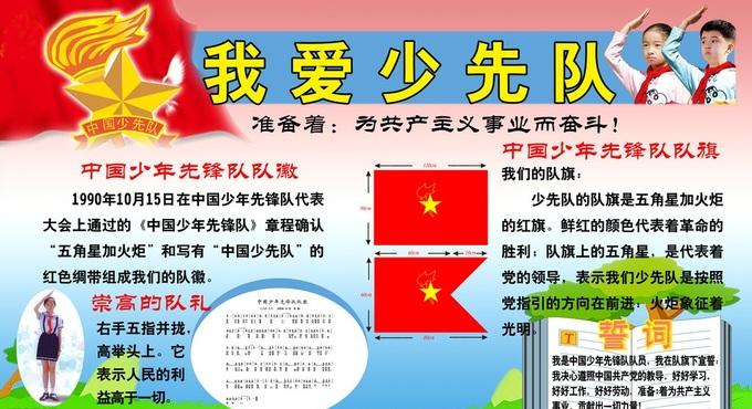 少先队展板 - 红领巾相约中国梦动态上传