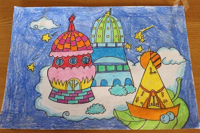 中国梦主题儿童绘画集锦